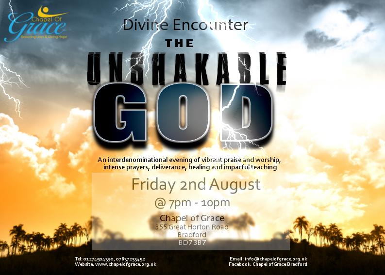 Unshakable God